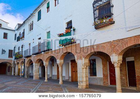 Zafra Plaza Chica in Spain Extremadura by the Via de la Plata way