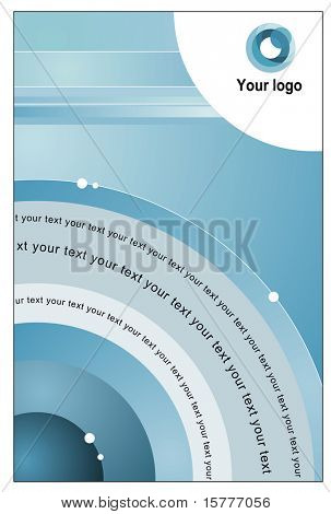 Corporate template background