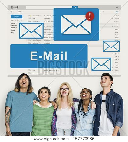 Mail Communication Connection Online Concept