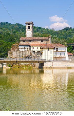Photo of medieval village in Garfagnana, Tuscany