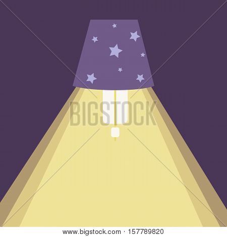 Chandelier  light icon. Vector office lamp light illustration. Concept of flat cartoon chandelier light. Colorful chandelier light background for your design. Flat cartoon chandelier lamp light isolated .The flow of light