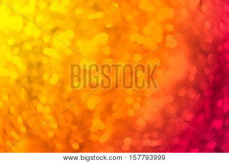 colorful blured abstract bokeh backgound form streamer