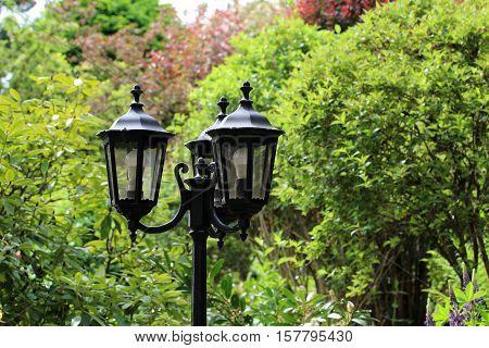 Street light / Two street lamp closeup