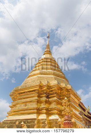 WAT PHRA THAT DOI SUTHEP Temple in Thailand