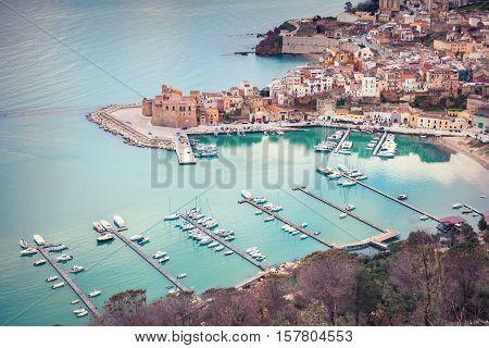 Port Of Castellammare Del Golfo Town