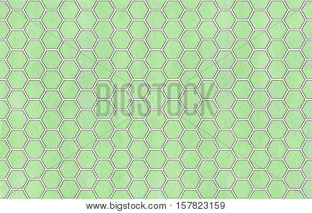 Watercolor Geometrical Comb Pattern.