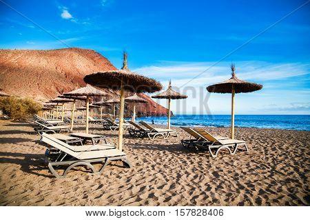 The Equipped Beach Playa De La Tejita