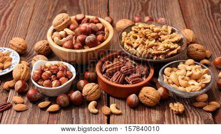 assorted nut