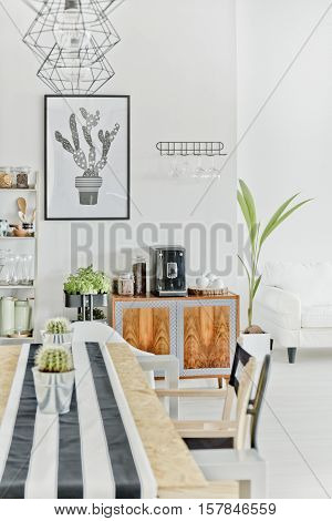 Dining Area With Table