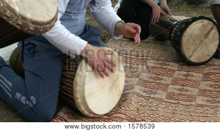 Middle-Eastern Drummers