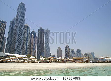 Dubai Beach - The Fastest Growing City In The World