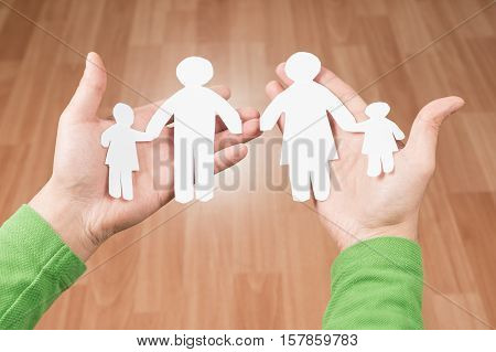 The concept of broken families and family problems