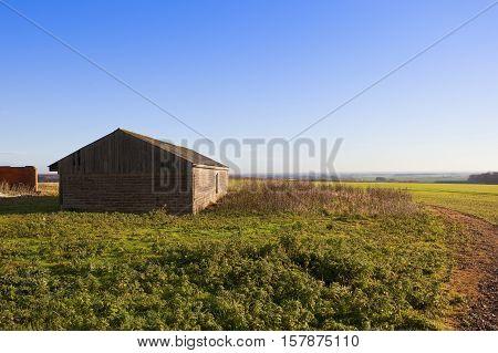 Yorkshire Wolds Farm Building