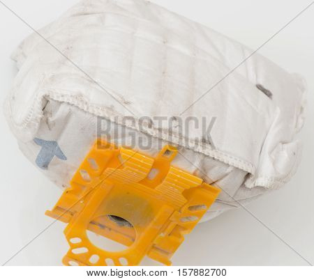 vacuum cleaner bag from the vacuum cleaner