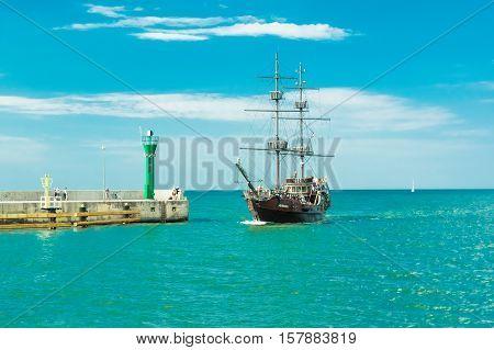 A Pirat Ship