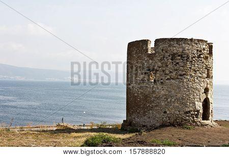 Old Town Nessebar  on the Bulgarian Black Sea Coast.