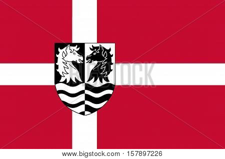 Flag of Faxe is a municipality in Denmark in Region Sjælland on the island of Zealand