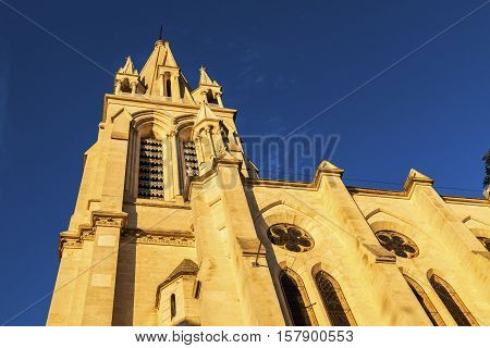 St. Anne Church in Montpellier. Montpellier Occitanie France.