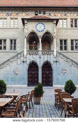 Rathaus in Bern. Bern, Bern Mittelland, Switzerland.