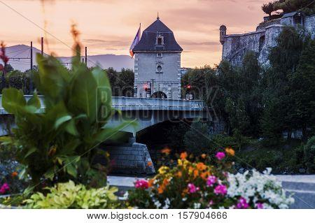Porte de France in Grenoble. Grenoble Auvergne-Rhone-Alpes France