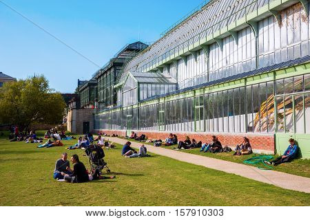 Greenhouse In The Jardin Des Plantes In Paris
