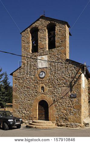 Church of Sant Joan Baptista Riu de Cerdanya Girona province Spain