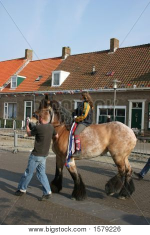 Ring-Riding At Welcheren In Holland