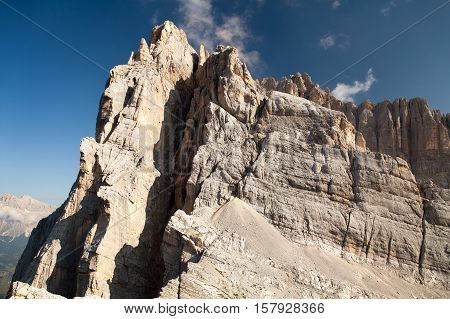 gruppo del Sorapiss Italian dolomites alps mountains