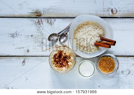 Jar Of Rice Pudding