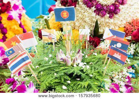 Flag Of  Asean Countries