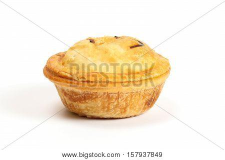 Small Savory Pie meat chicken beef mushroom stuffed