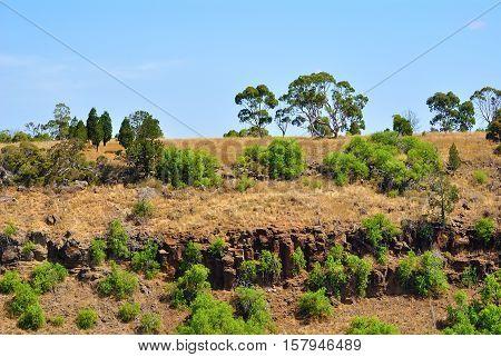 Landscape image of the beautiful Australian outback Victoria Australia