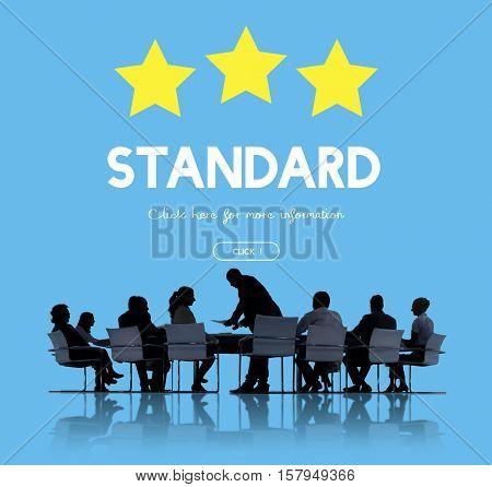 Standard Warranty Quality Assurance Concept poster