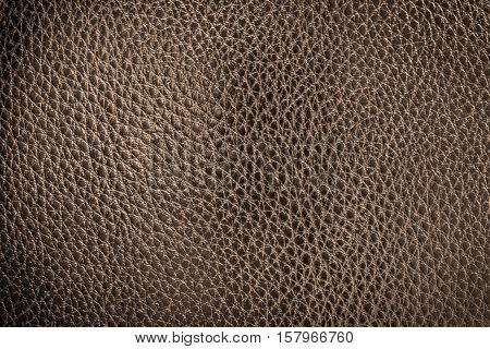 Brown leather texture or leather background. Leather sheet for making leather bag leather jacket furniture and other. Abstract leather pattern for design with copy space for text or image.