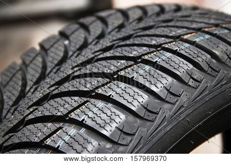 background of tires on wheels for car