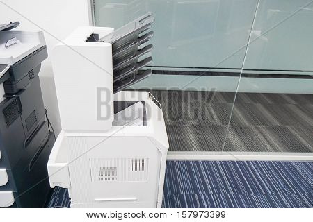 modern style of printer for document printing in office