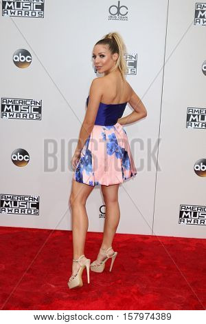 LOS ANGELES - NOV 20:  Kira Kazantsev at the 2016 American Music Awards at Microsoft Theater on November 20, 2016 in Los Angeles, CA