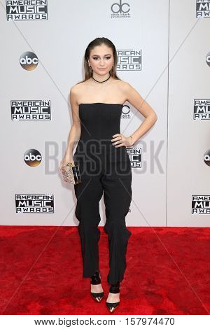 LOS ANGELES - NOV 20:  Daya at the 2016 American Music Awards at Microsoft Theater on November 20, 2016 in Los Angeles, CA