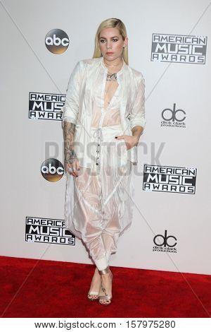 LOS ANGELES - NOV 20:  Skylar Grey at the 2016 American Music Awards at Microsoft Theater on November 20, 2016 in Los Angeles, CA
