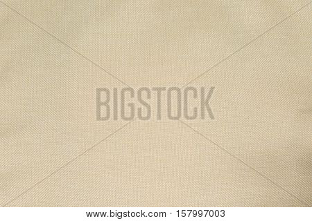 Fabric brown material burlap texture for background.