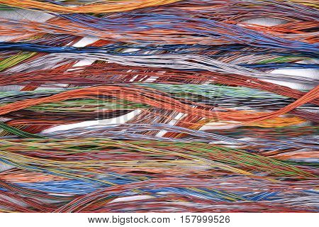 Cables and wires of electrical and telecommunication network