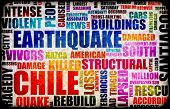 Chile Earthquake Crisis Disaster as a Concept poster
