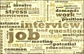 Job Interview Preparation As a Career poster