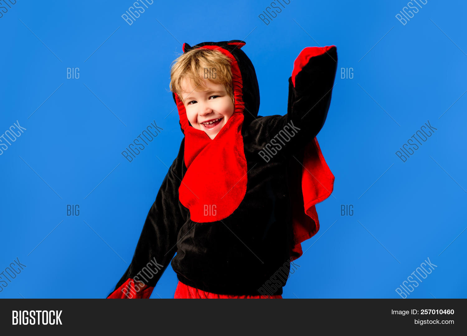 4a9772e0fd8c1 Little Boy Black&red Image & Photo (Free Trial) | Bigstock