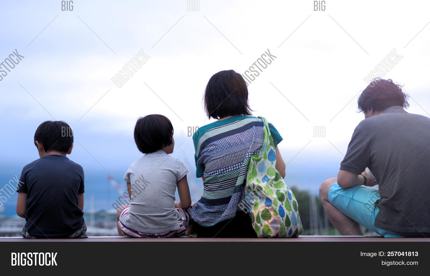 Behind Images Family Image & Photo (Free Trial) | Bigstock
