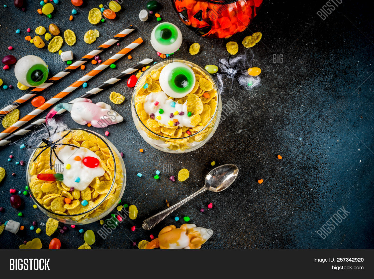 Funny Halloween Food Image & Free Trial