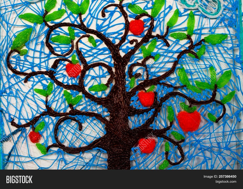 Beautiful Fruit Tree Image Photo Free Trial Bigstock