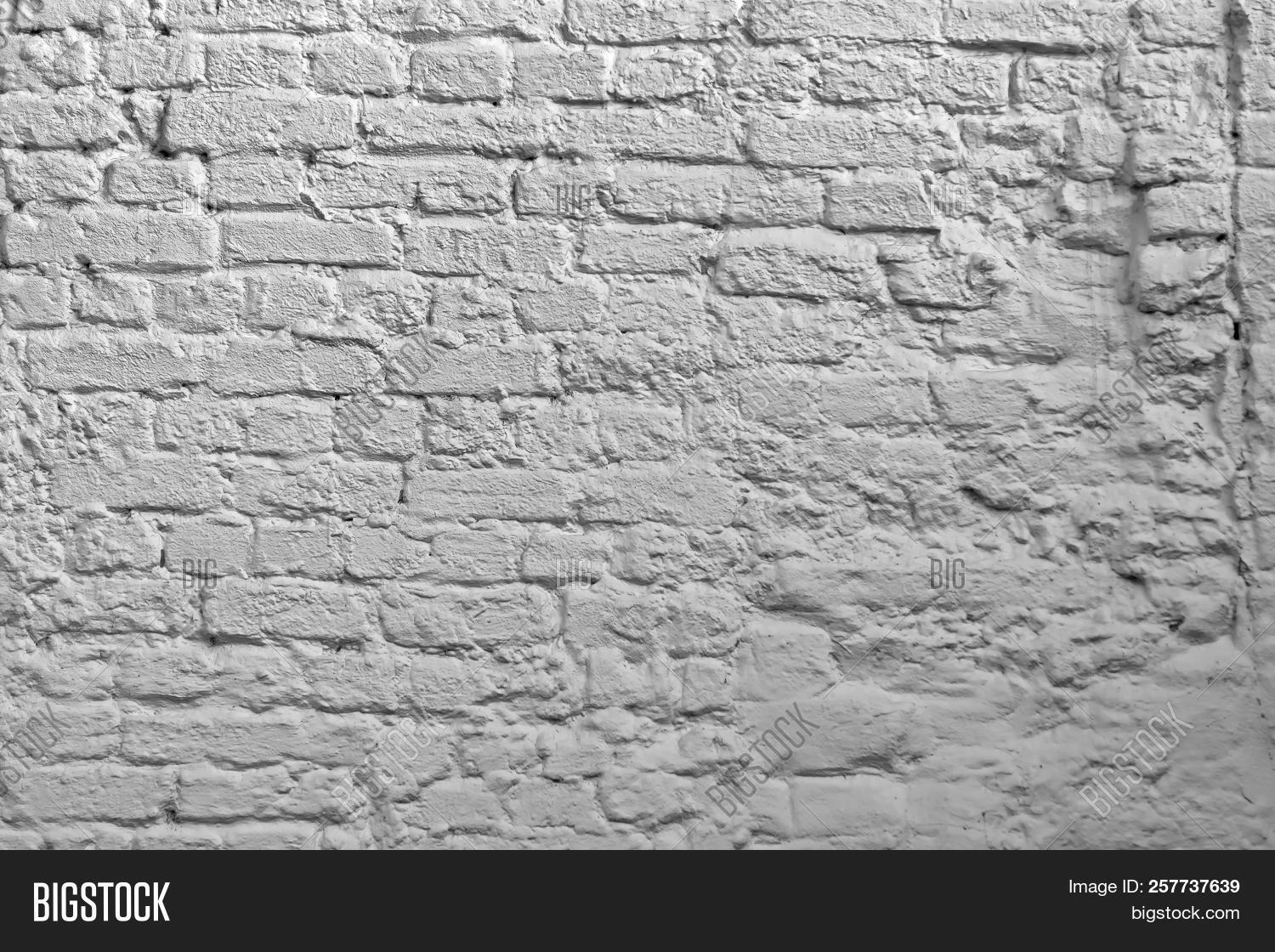 White Brick Wall Image Photo Free Trial Bigstock