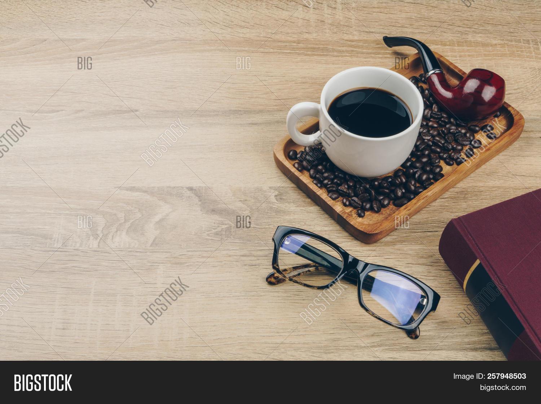 Cup Coffee Pile Coffee Image Photo Free Trial Bigstock