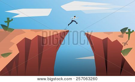 Belive In Yourself And Dare To Be Yourself. Take Risk In Life And Move For Your Goals. The Jumping M